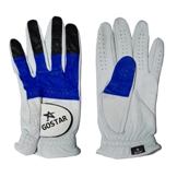 Mixed Color Cabretta Golf Glove