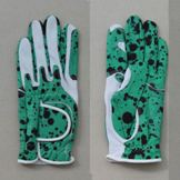 One Size Printing Cabretta Golf Glove